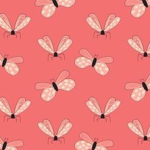 Pretty in Pink Butterflies