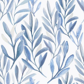 Blue and Gray Branches