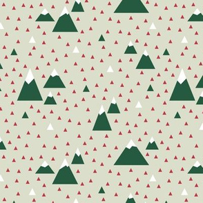 Triangle Mountains (Festive)