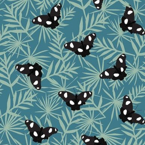 tropical butterfly swatch-01
