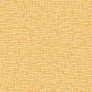 Woven Burlap Texture Seamless Vector Pattern Yellow