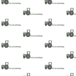 Tractors on the Farm