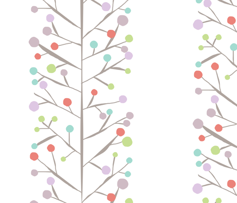 Branching Out - Spring fabric by lulularch on Spoonflower - custom fabric