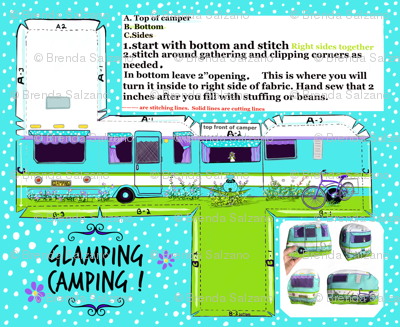 Cut and Sew Glamping Camper