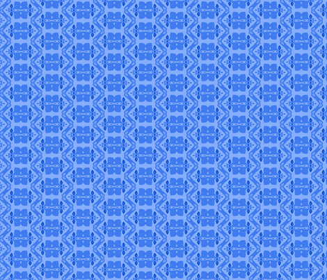 Be Leaf in Blue fabric by donovanh on Spoonflower - custom fabric
