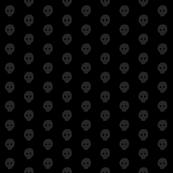 Dark grey skulkadot