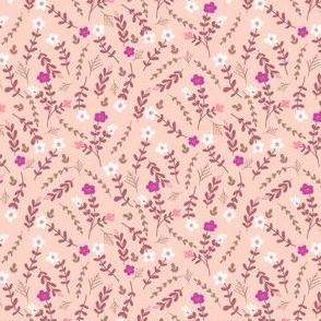 Pink Floral Small