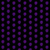 Purple skulkadot