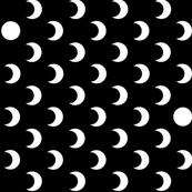 Polkadot crescent moons