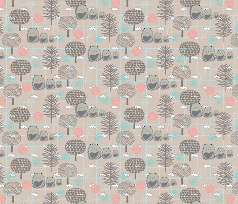 genderneutral fabric by teal_feather on Spoonflower - custom fabric