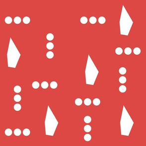 Red Parrot Dots
