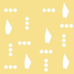 Yellow Parrot Dots