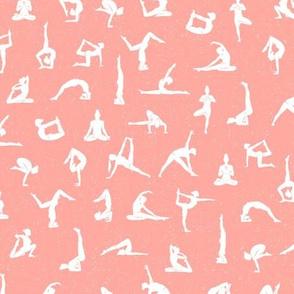 I love yoga - Peach