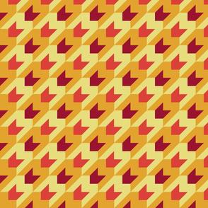 Arrow de poule oranges