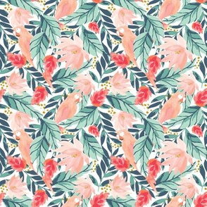 IBD Floral Tropic Parrot A-ROTATED