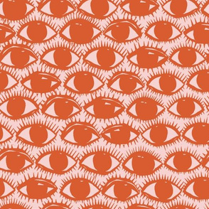 Inky Eyes // Orange