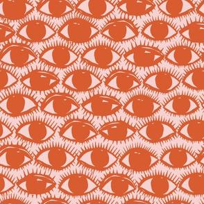 Inky Eyes // Orange