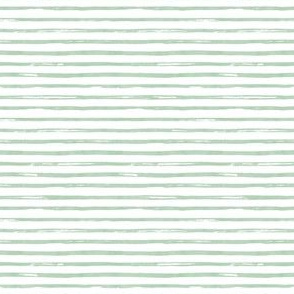 "4"" Green Watercolor Stripes"