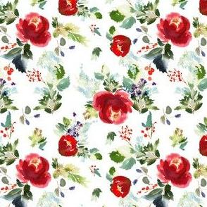 "4"" Boho Winter Garden - White"