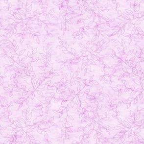 Soft Pink Vines Texture