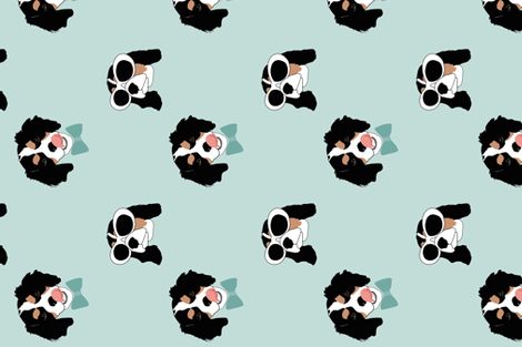 Cavalier Cool fabric by modart on Spoonflower - custom fabric