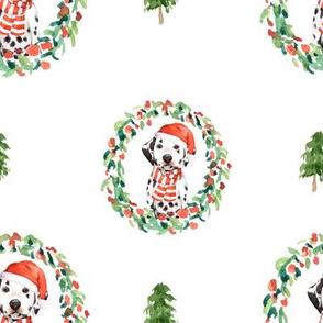 """8"""" Best Friend Holiday Wreath - White"""