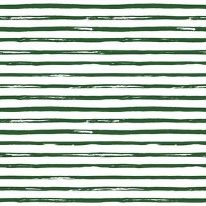 "8"" Green Stripes"
