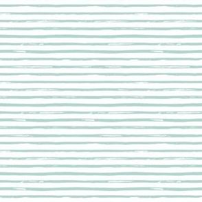 "4"" Light Green Stripes"