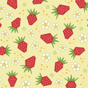 Geometric Strawberries (Classic)