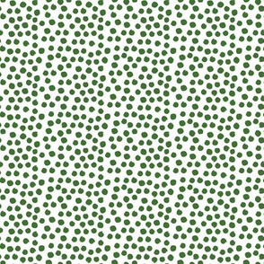 "8"" Apple Green Dots"