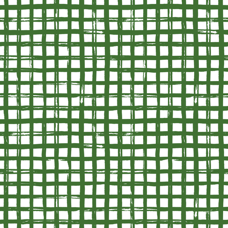 "8"" Apple Green Squares fabric by shopcabin on Spoonflower - custom fabric"