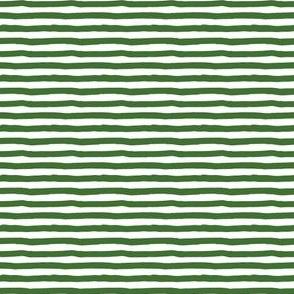 "4"" Apple Green Stripes"