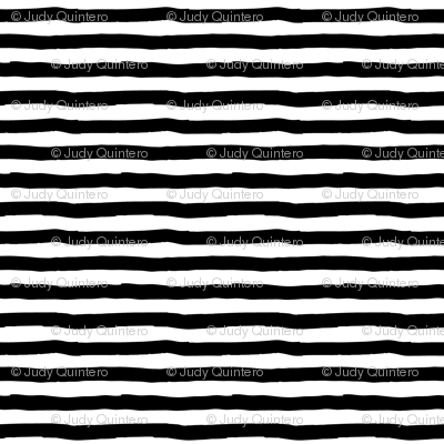 "8"" Black and White Stripes"