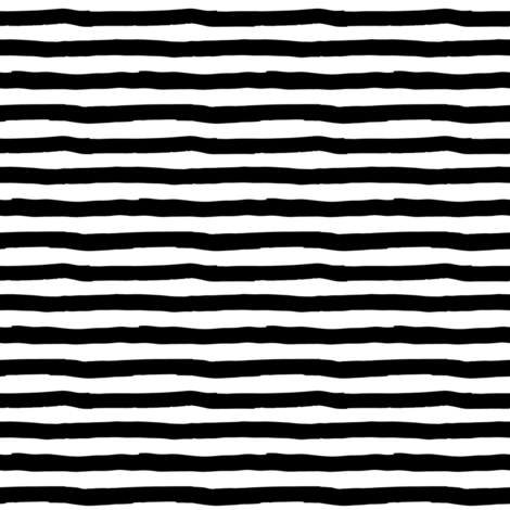 """8"""" Black and White Stripes fabric by shopcabin on Spoonflower - custom fabric"""
