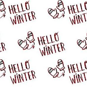 "4"" Hello Winter - Plaid"