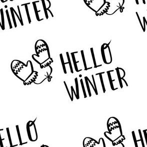 "8"" Hello Winter - White"