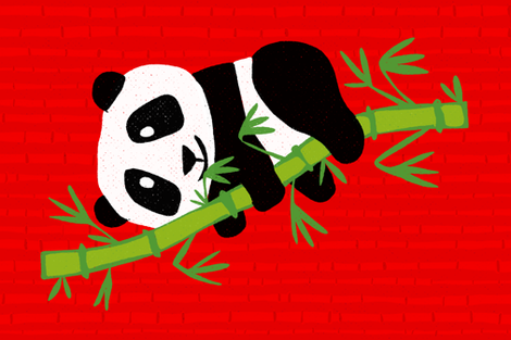 Bambooboo fabric by seesawboomerang on Spoonflower - custom fabric