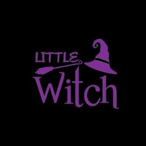Little witch purple