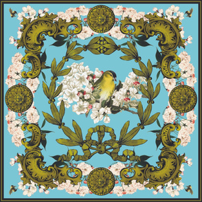 Baroque Bird Scarf