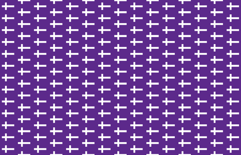 White Crosses on Deep Purple fabric by noeldraws on Spoonflower - custom fabric