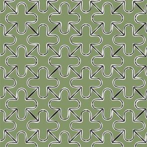 Contour plus grid green