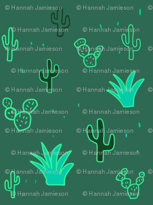 Neon cacti take two