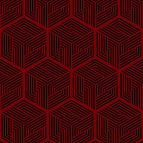 Thor Cape Pattern 2 (Dark Red)
