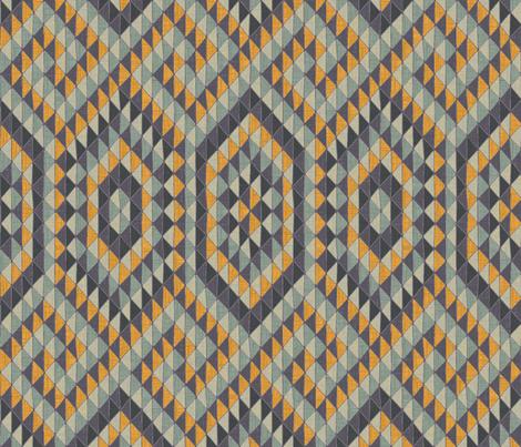 Ophidian - aurum fabric by ormolu on Spoonflower - custom fabric