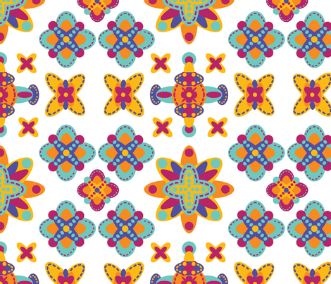 melrose fabric by chillipeppa_designs on Spoonflower - custom fabric