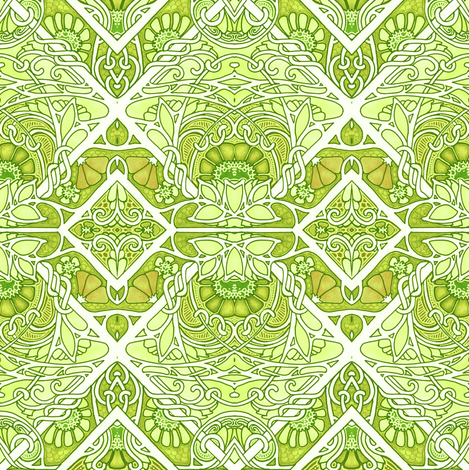 Celtic Knot In My Back Yard Wallpaper Edsel2084 Spoonflower