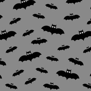 bats on grey 60% smaller » halloween