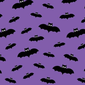bats on purple 60% smaller » halloween