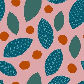Paper Cut Leaves