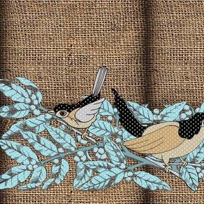 burlap birds 092218